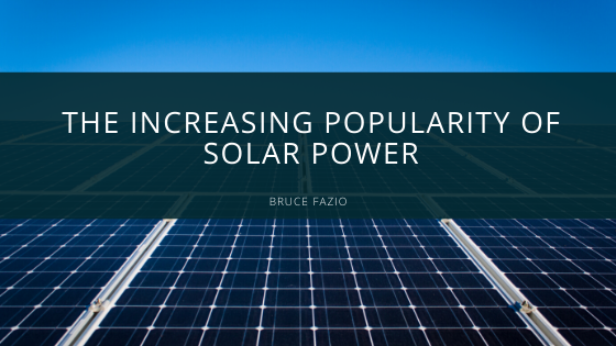 The Increasing Popularity of Solar Power